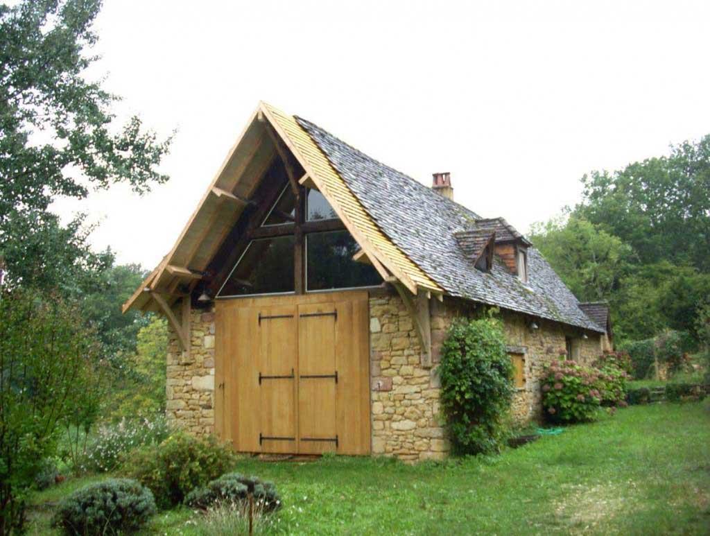 de bois et d 39 homme modification de toiture. Black Bedroom Furniture Sets. Home Design Ideas