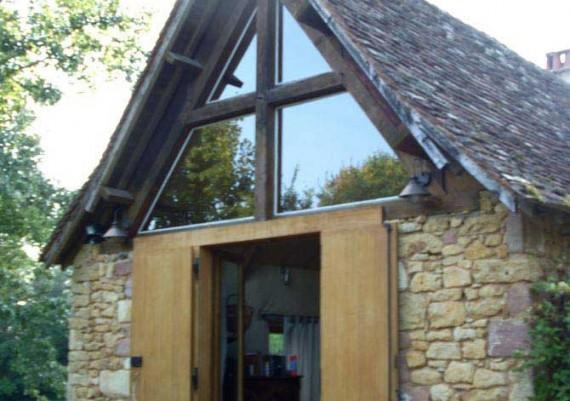 Modification de toiture (avant)