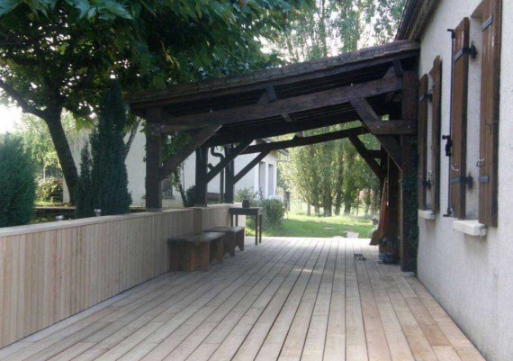 Terrasse (coté)