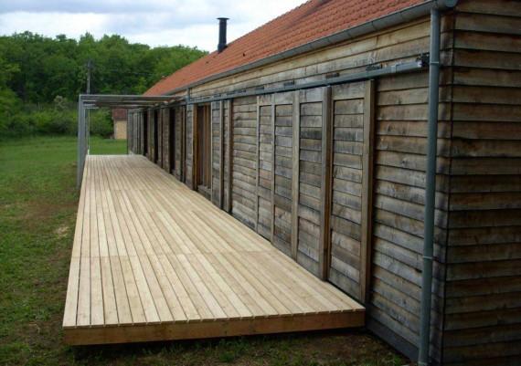 Terrasse suspendue (profil)